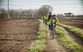 Giri di gruppo in bici elettrica