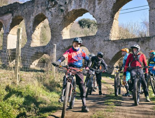 In MTB attorno a San Vittorino, tra trail e acquedotti
